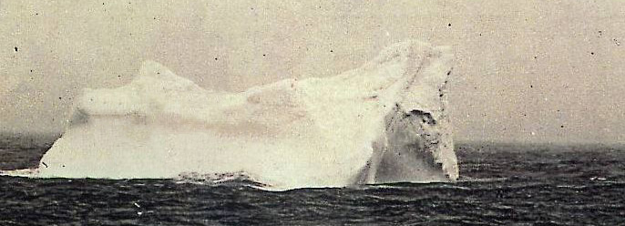 This Iceberg was near the survivors, it could be the one Titanic hit!