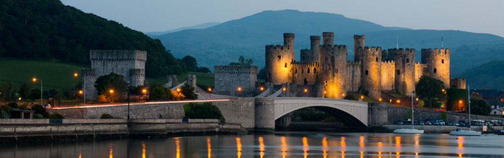 Welsh History, Castles in Wales